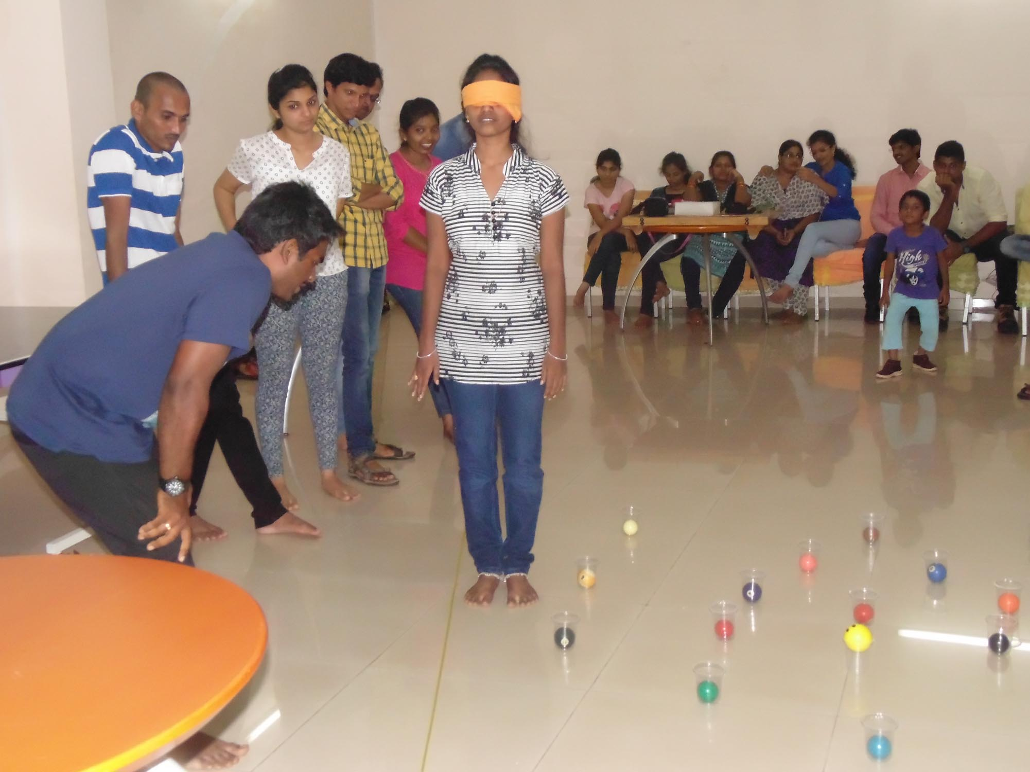 Krify Employees Team building