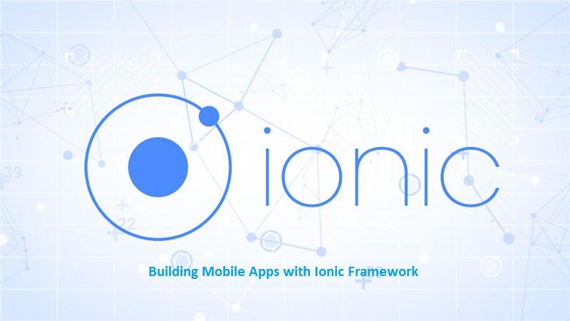 ionic framework 4