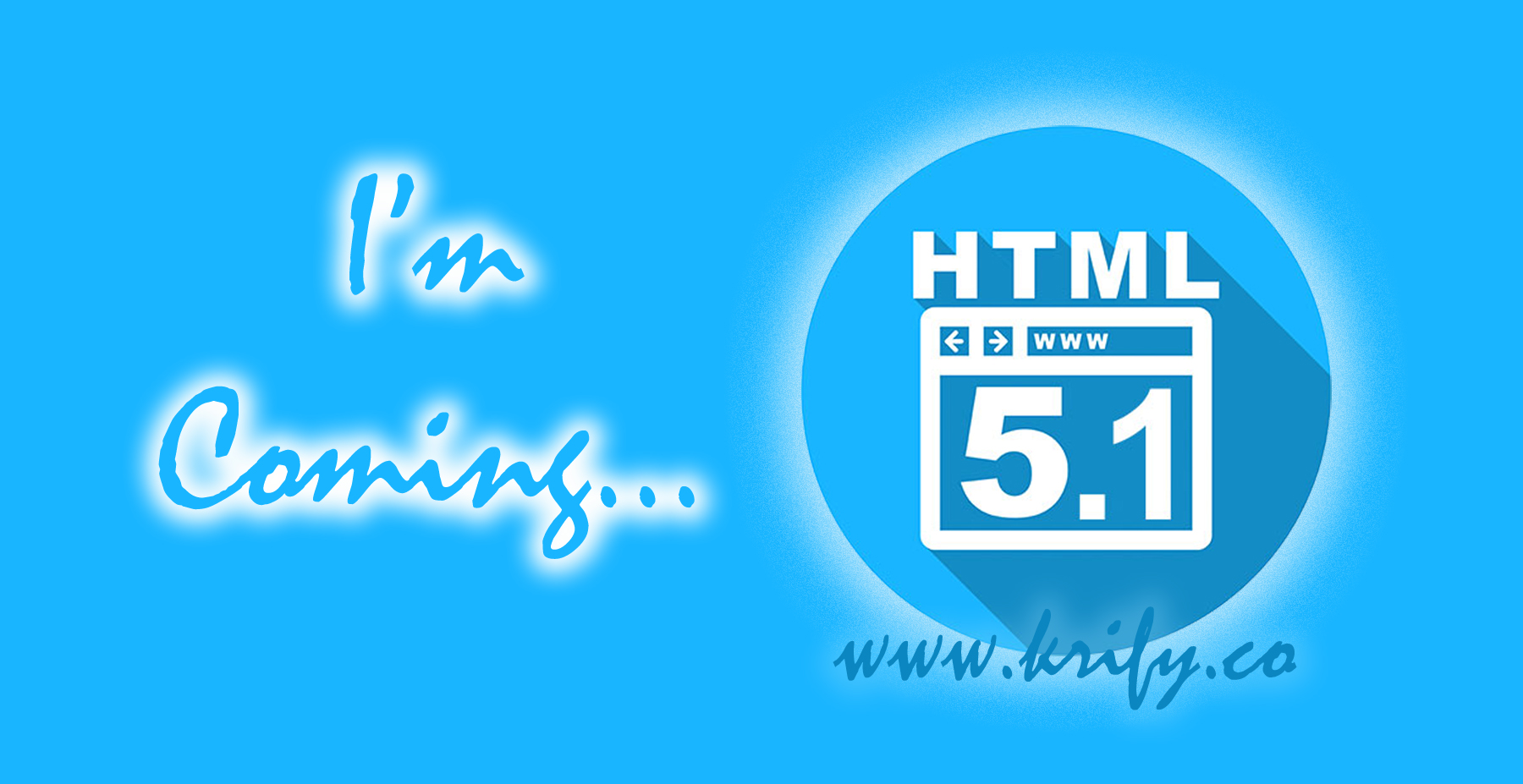 HTML 5.1 Specifications