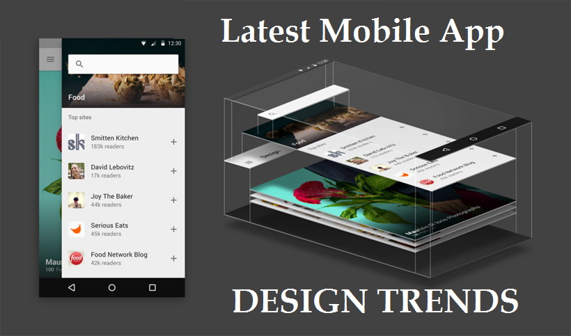 The Latest UI/UX Mobile App Design Trends