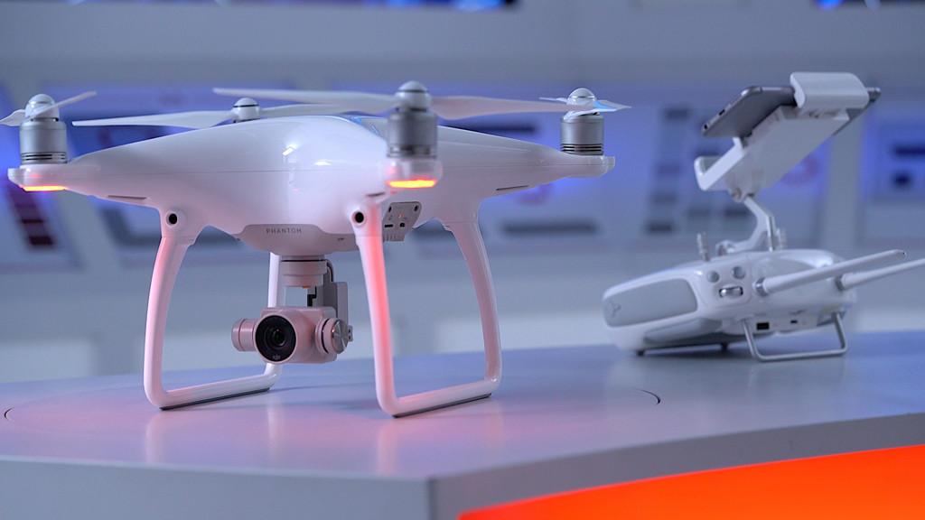 DJI-Phantom-4 Drone