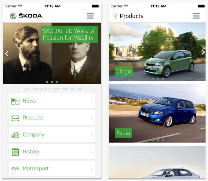 Skoda Mobile Apps