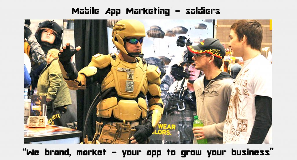 We brand, market - your app to grow your business