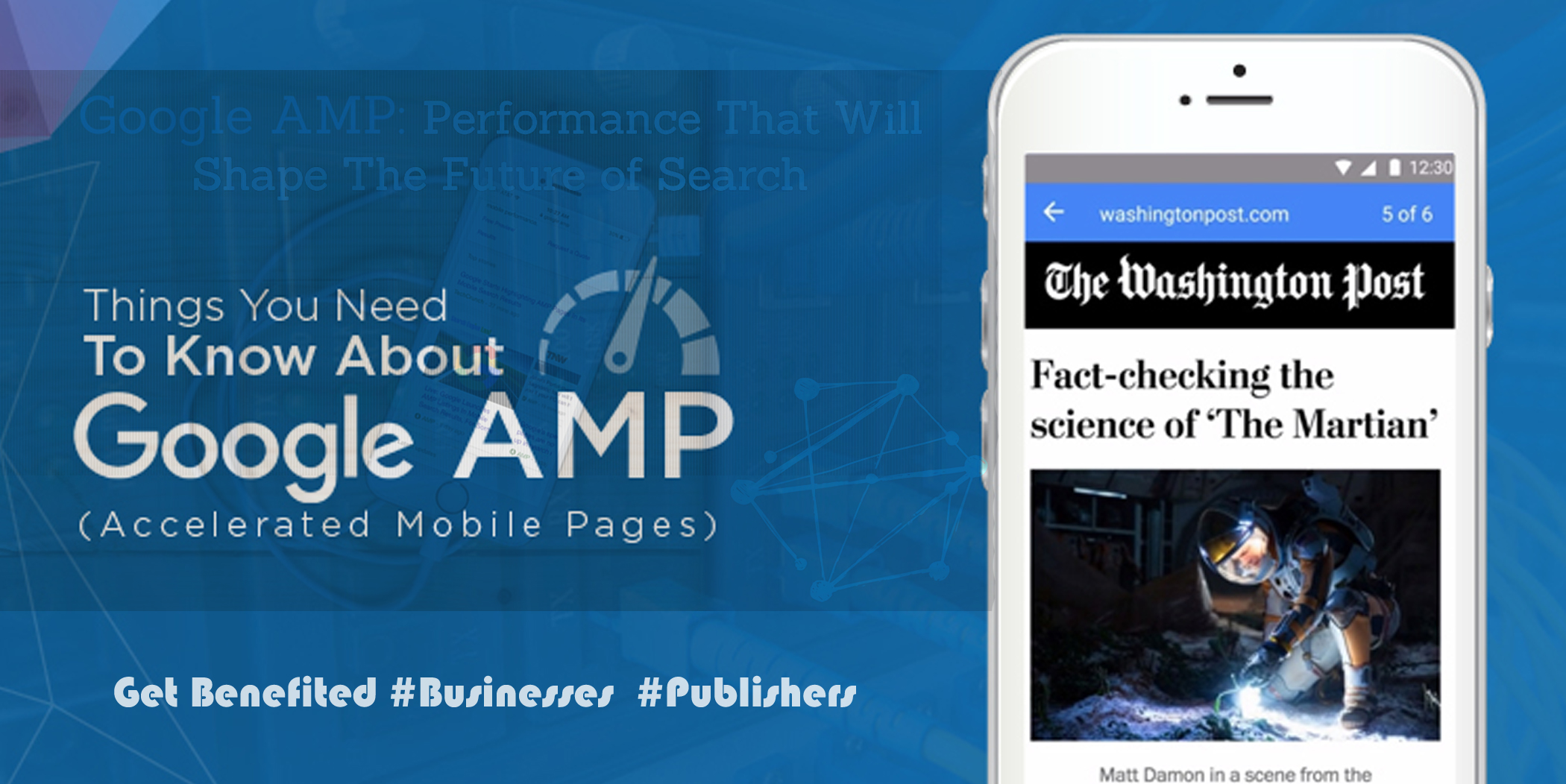 Go For AMP - Accelerated Mobile Pages Web Development