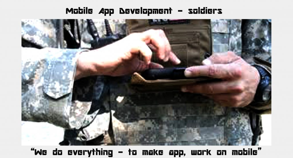mobile app development soldiers