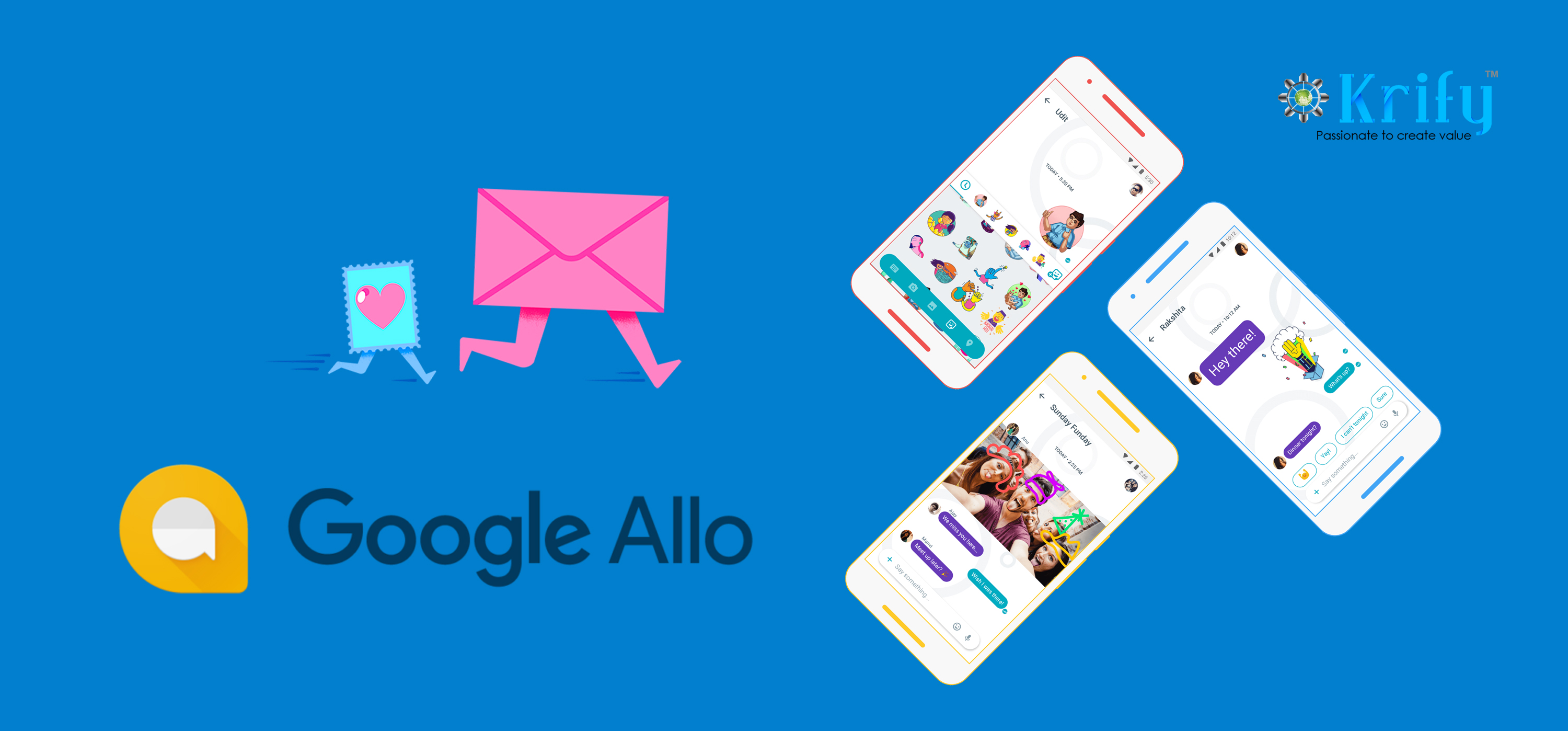 Google allo conversation moving