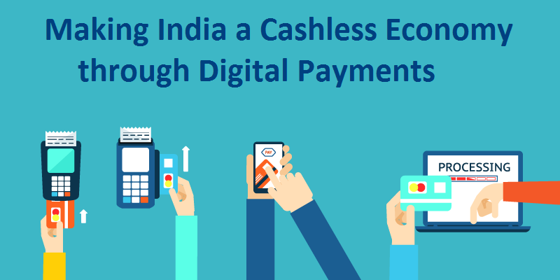 digital-payments in India for cashless and digital payments
