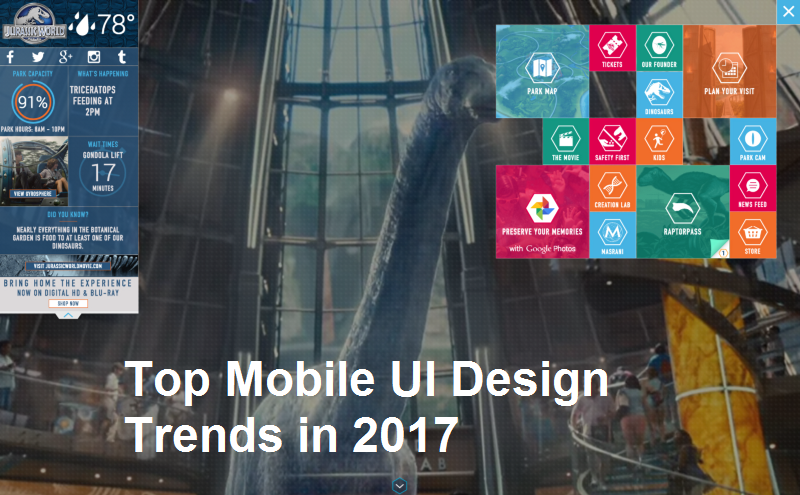 Top mobile ui design tends to look upto in 2017 krify - Mobel trends 2017 ...