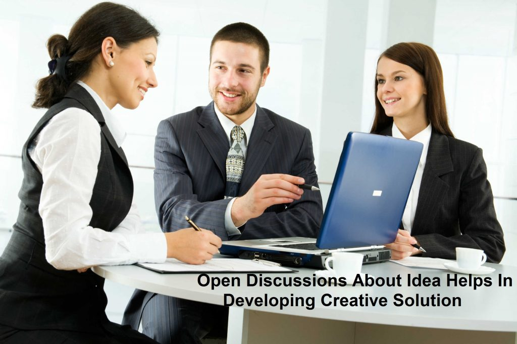 open discussion and consultative approach to develop apps