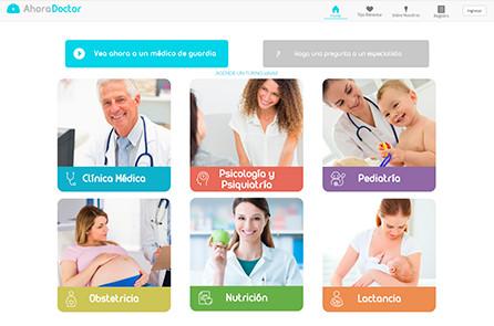 ahora doctor website