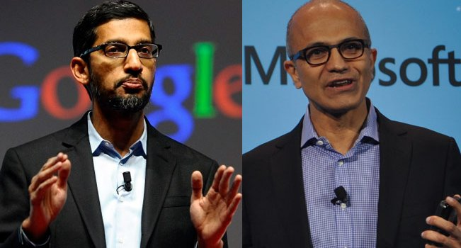 Indian Developers who becomes the Google & the Microsoft CEO's.