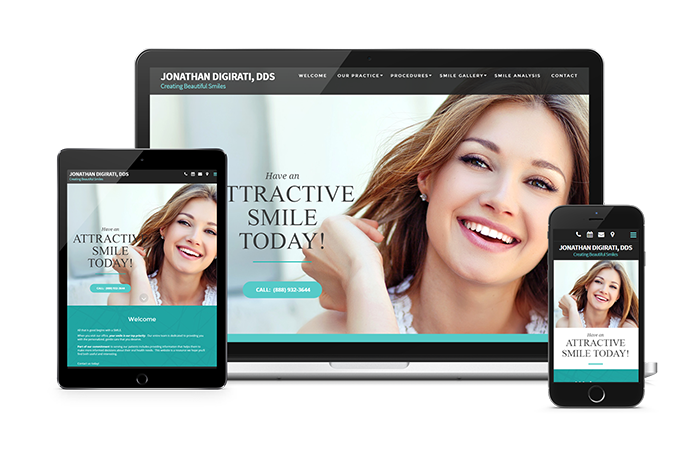 dental website and mobile app development