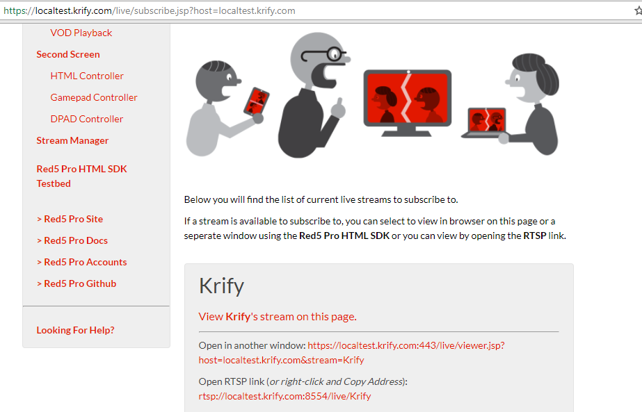 Best Red5 Pro Live Streaming App Developers India UK   Krify