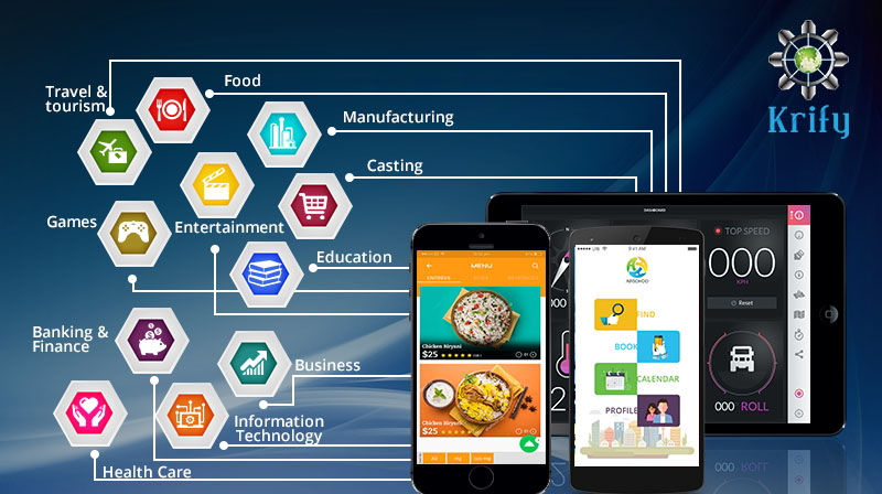 Industries earning benefits from mobile apps krify for Industrie mobel