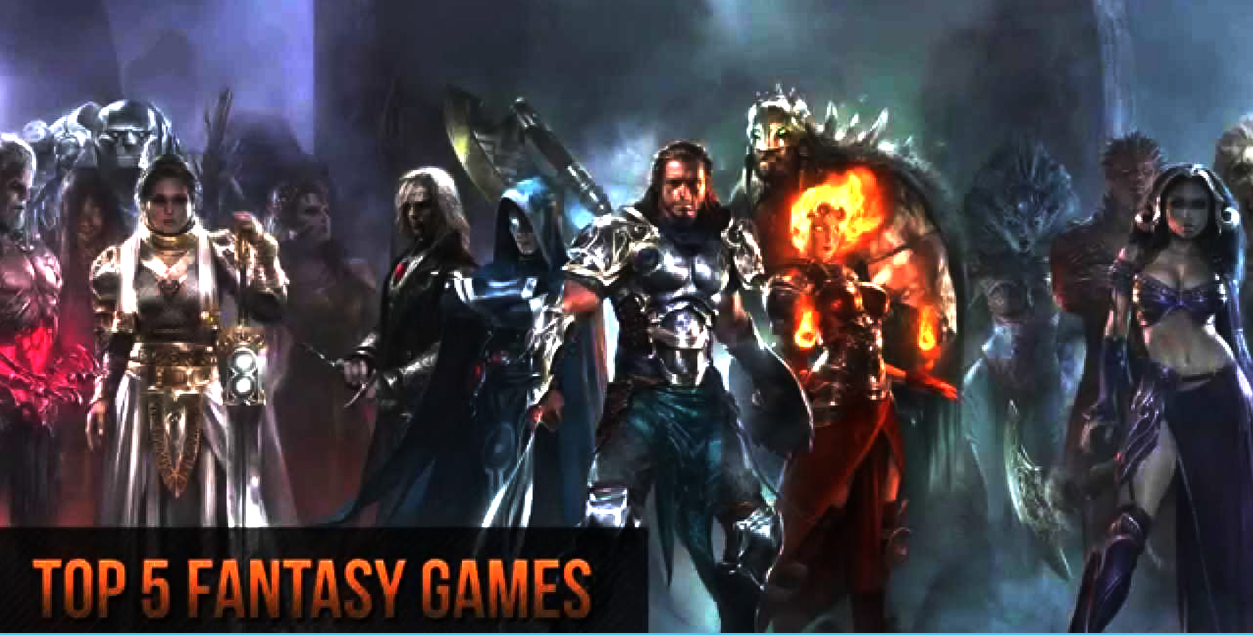 Top 5 Virtual Fantasy Games to Play #HARD