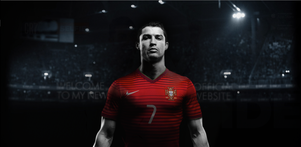 Ronaldo's Athletes Website
