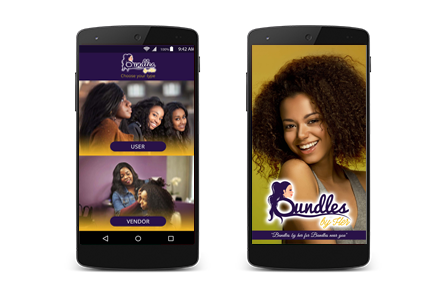 Bundles by her - mobile app for hair wigs
