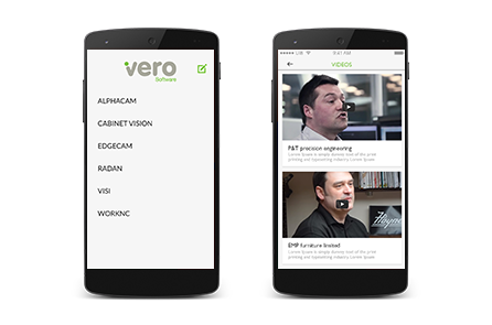 vero software mobile app