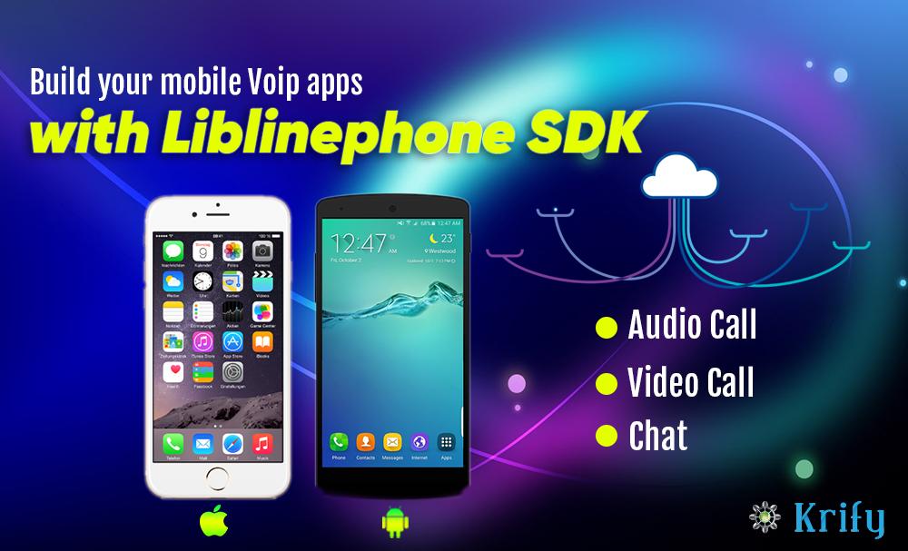 VOIP Client Application using LibLinphone SDK   Krify