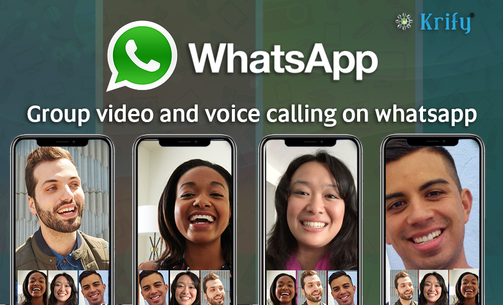 Whatsapp group video-calling