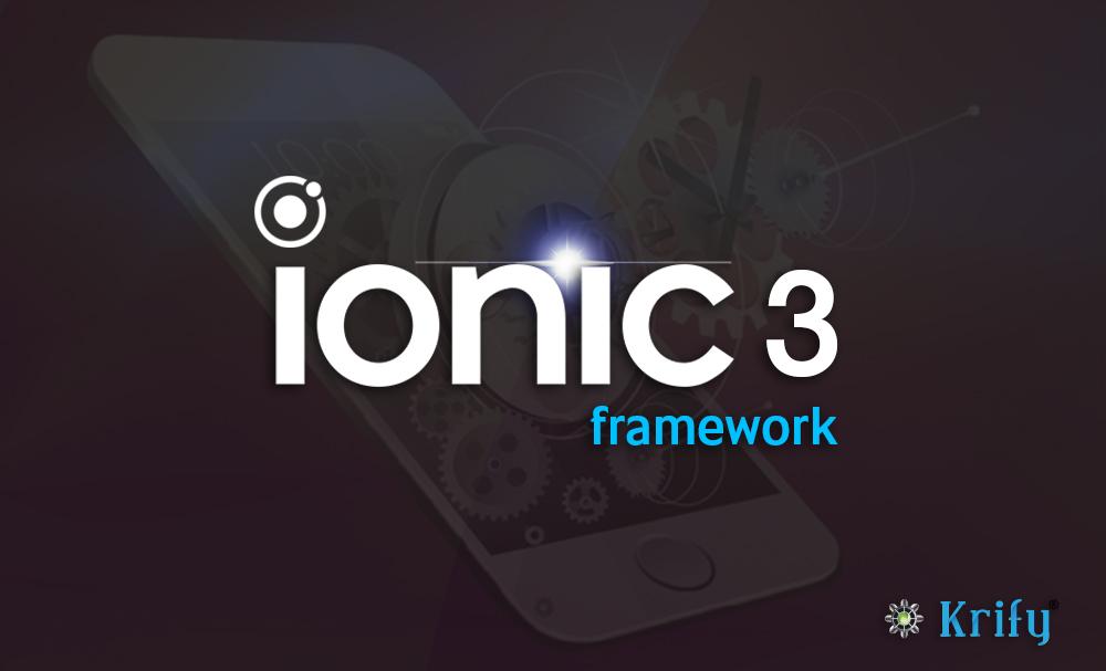 ionic framework for hybrid app development
