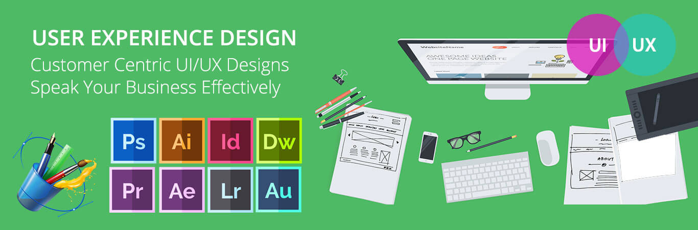 World Class USER CENTRIC UI / UX Designers India, UK