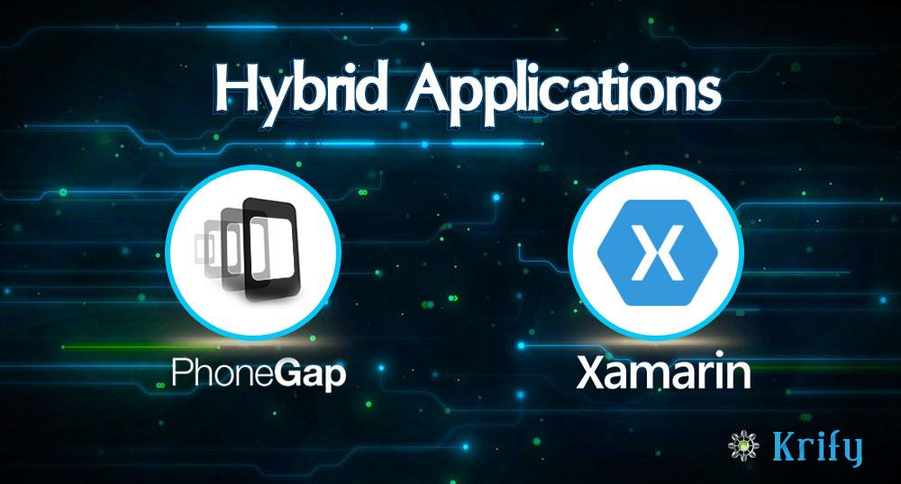 Hybrid Application- Xamarin and PhoneGap