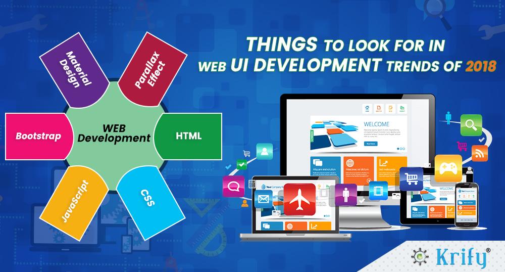 Web UI development trends 2018