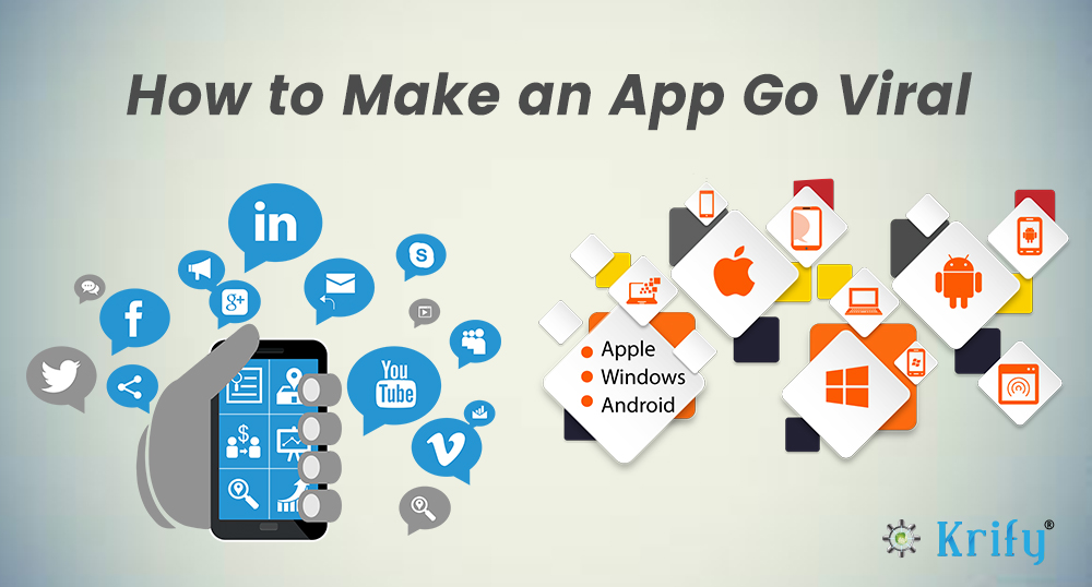 how to make an app go viral