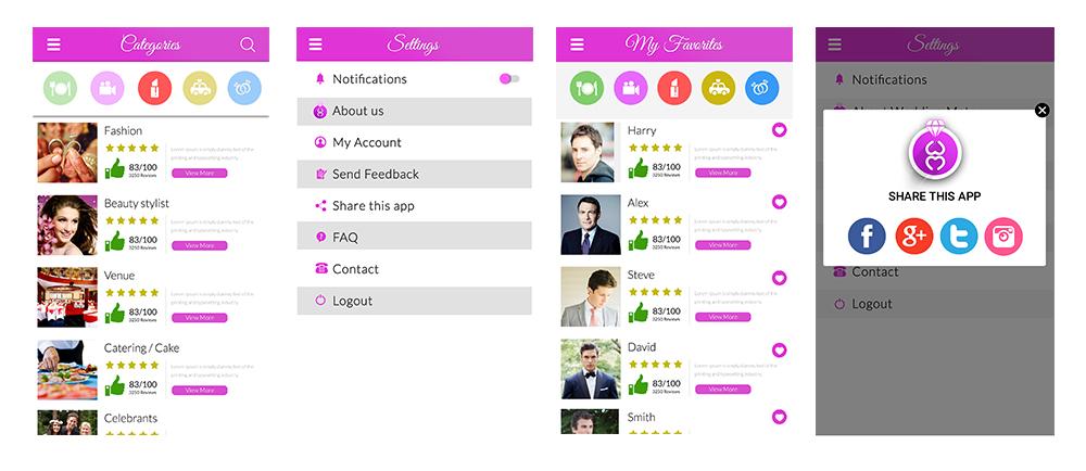 weddingmate app