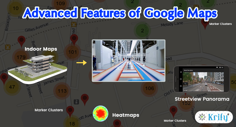 Advanced Features of Google Maps