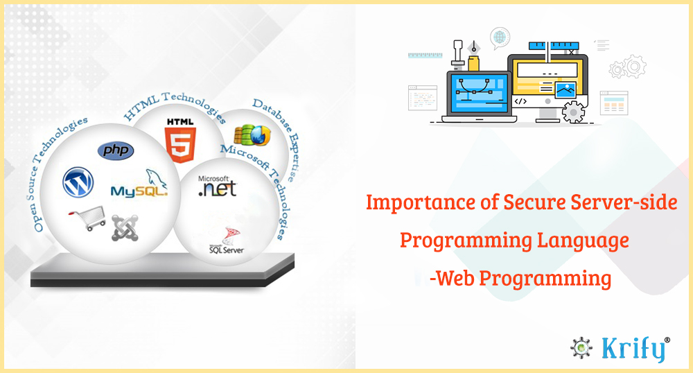 Importance of secure server-side programming language - Web Programming Guide