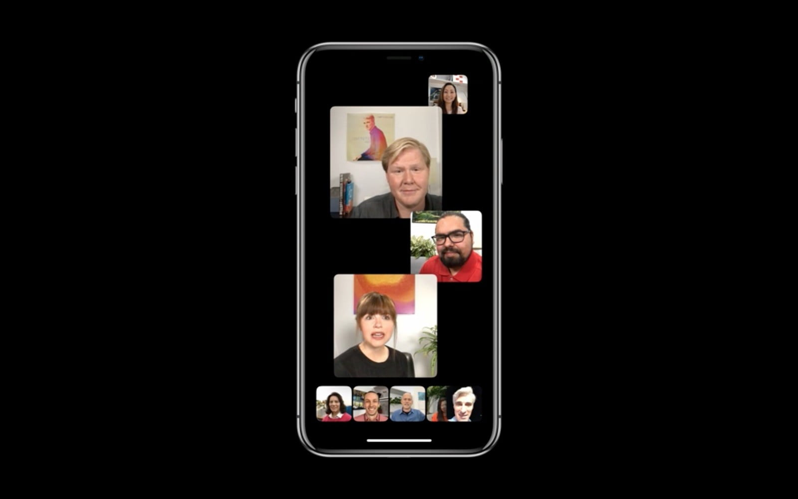 group face time chat