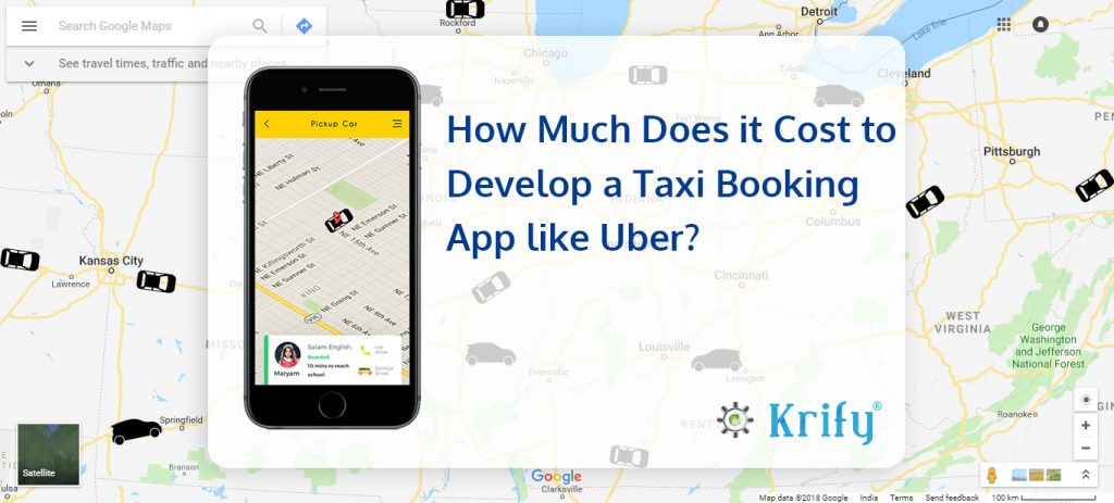 How Much Does it Cost to Develop a Taxi Booking App like Uber