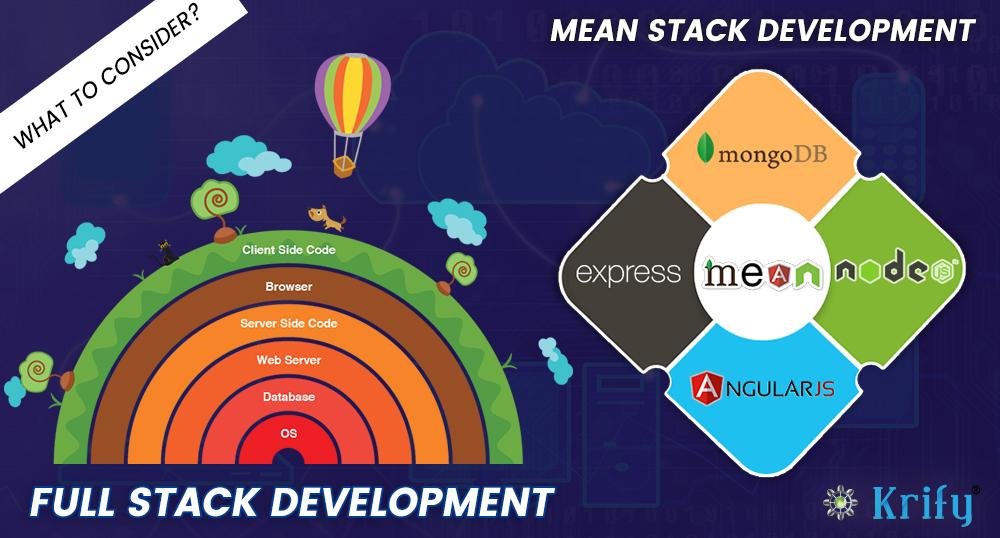 MEAN Stack Vs Full Stack Development