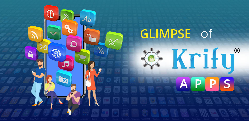 mobile apps development company in India - krify