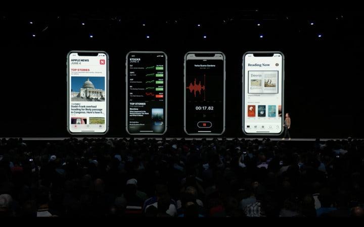 variety of app updates