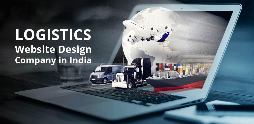 Logistics website design and development