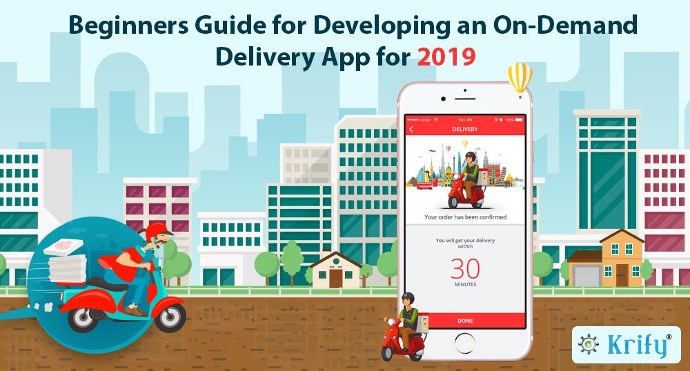 beginner guide for delivery app