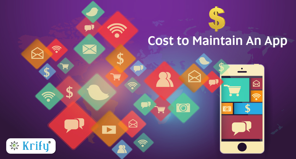cost to maintain the app