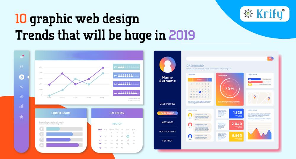 10 Graphic web design trends of 2019