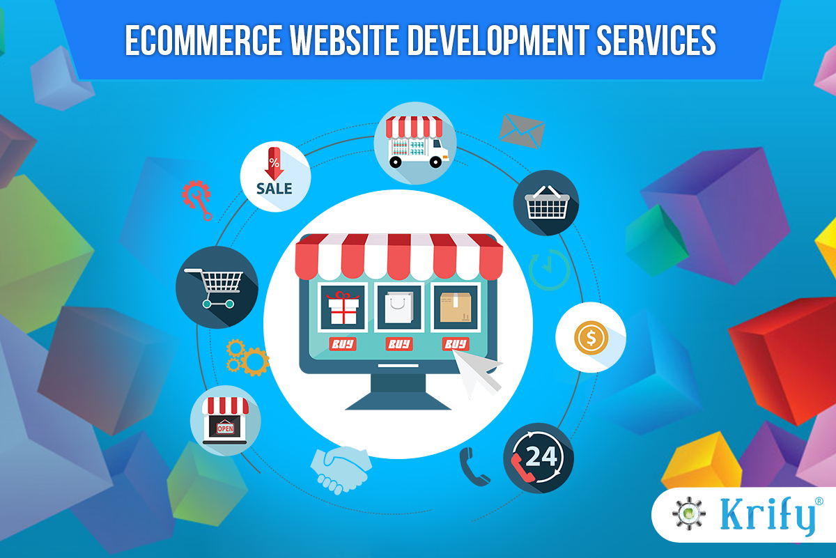 E-commerce web development and designing services