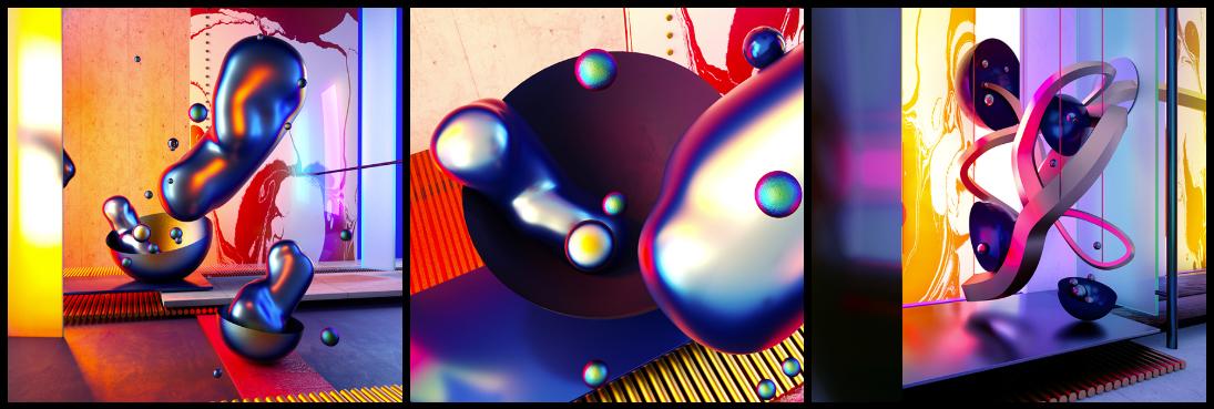 Metallic effect2