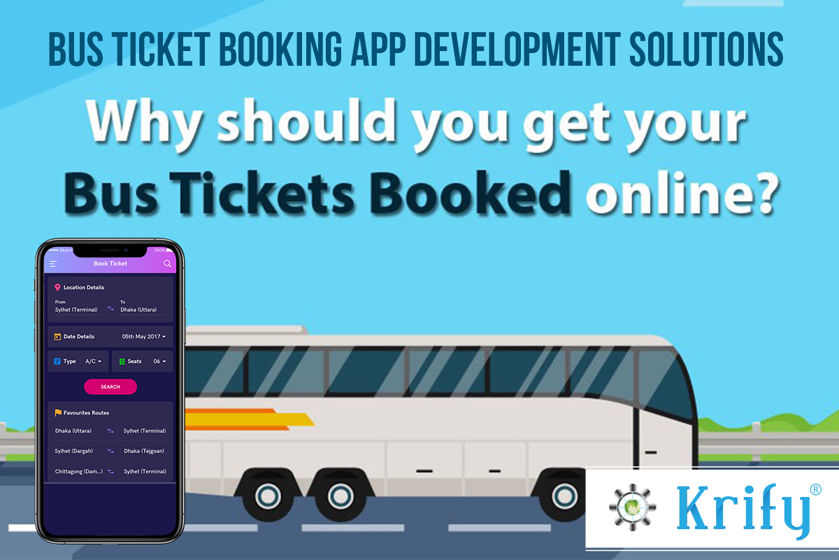 Bus Ticket Booking Mobile App Development Solutions in India