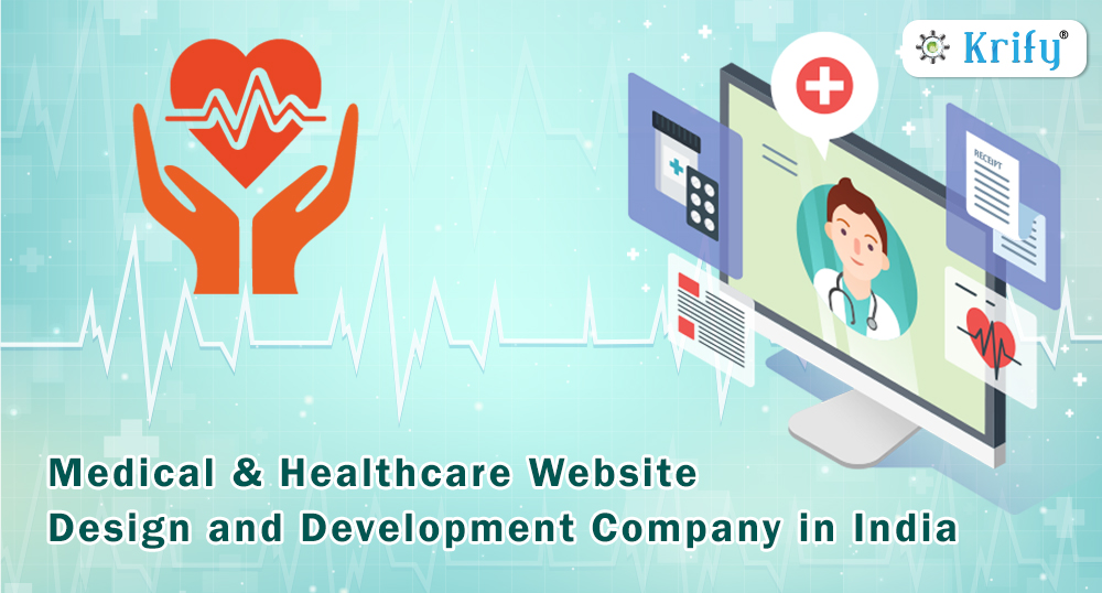 medical and health care website design and development