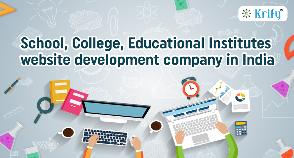 school, educational website development