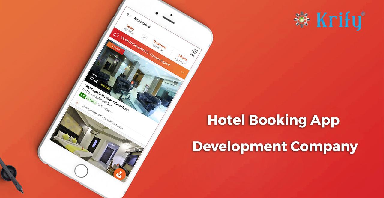 Hotel Booking app development company
