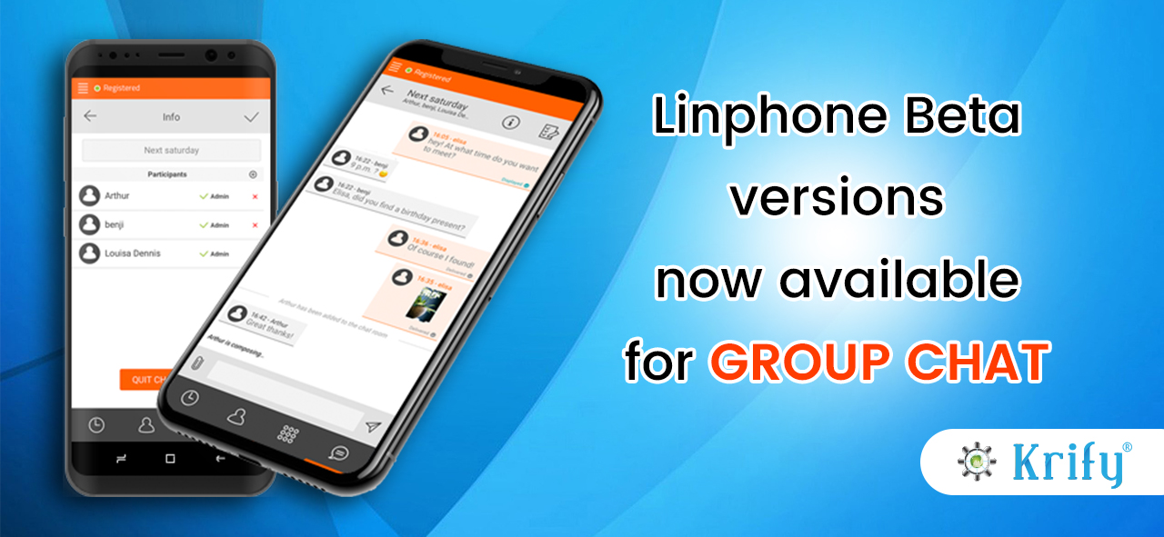 Linphone Group chat