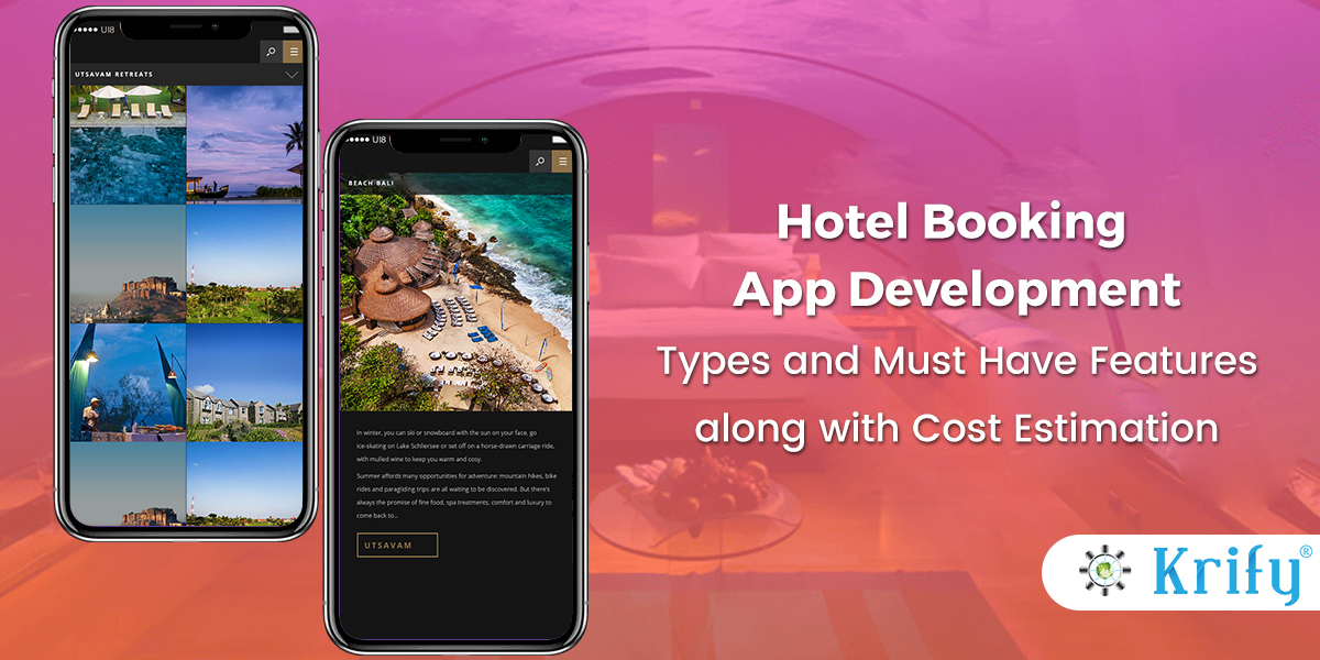 Hire Hotel booking app developers India