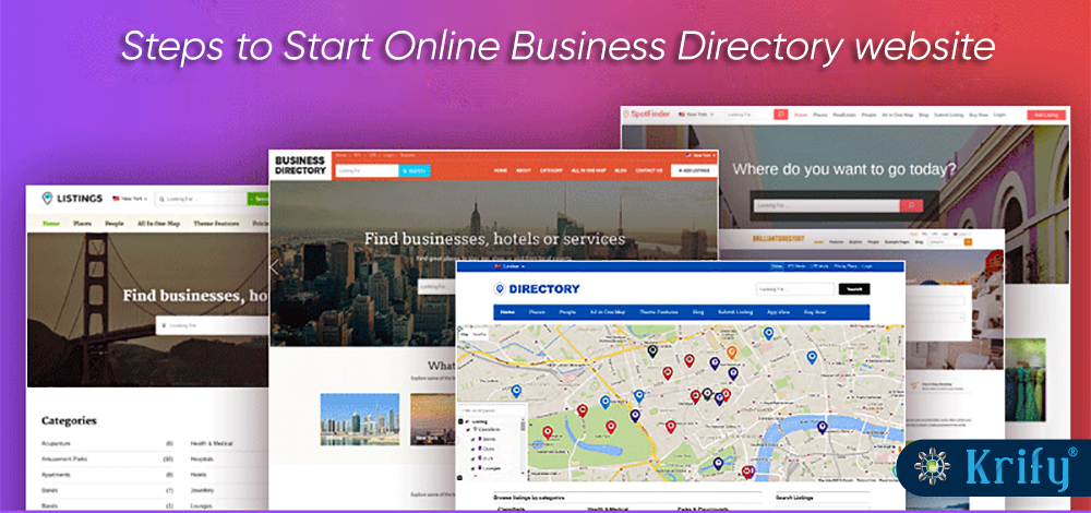 online directory websites